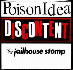 Poison Idea: Discontent - Cover