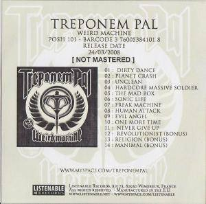 Cover - Treponem Pal: Weird Machine