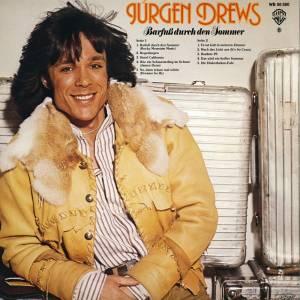 Jürgen Drews Barfuss Durch Den Sommer Lp 1977 Gatefold