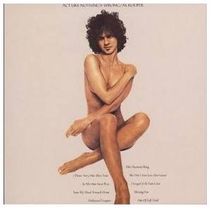 Cover - Al Kooper: Act Like Nothing's Wrong