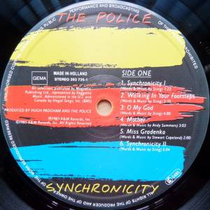 The Police: Synchronicity (LP) - Bild 3