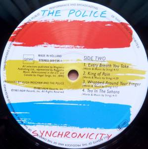 The Police: Synchronicity (LP) - Bild 4