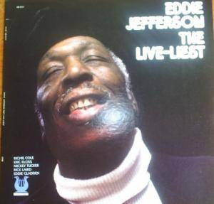 Cover - Eddie Jefferson: Live - Liest, The