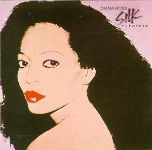 Diana Ross: Silk Electric - Cover