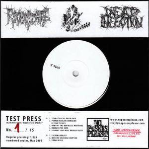 Cover - Dead Infection: Dead Infection / Regurgitate