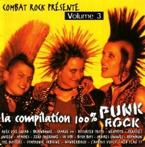 Cover - Symphonie Urbaine: Compilation 100% Punk Rock - Volume 3, La