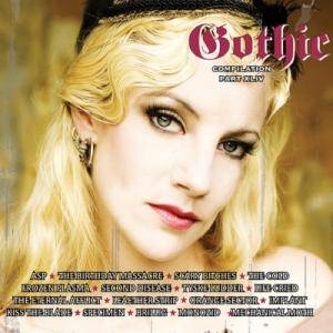 Cover - Life Cried: Gothic Compilation Part XLIV