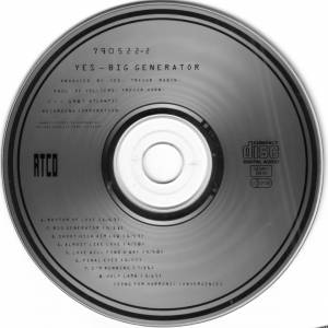 Yes: Big Generator (CD) - Bild 4