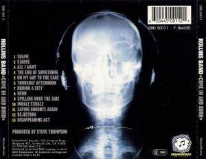 Rollins Band: Come In And Burn (CD) - Bild 2