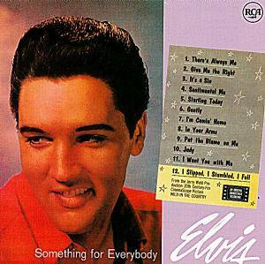 Elvis Presley: Something For Everybody - Cover