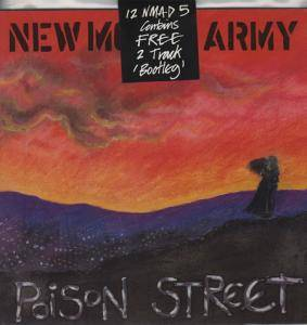New Model Army: Poison Street - Cover