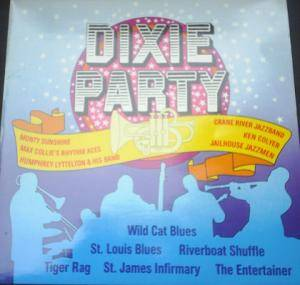 Cover - Monty Sunshine Jazz Band: Dixie Party