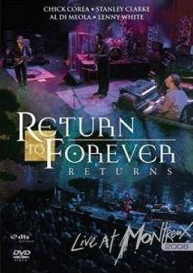 Cover - Return To Forever: Live At Montreux 2008