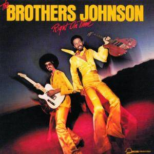 Cover - Brothers Johnson, The: Right On Time