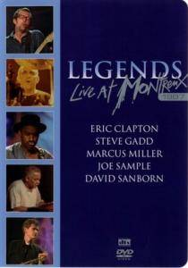 Legends: Legends - Live At Montreux 1997 - Cover