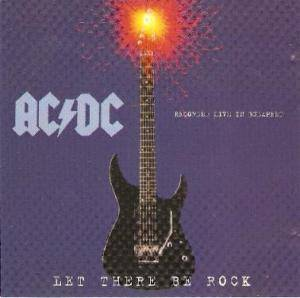 AC/DC: Let There Be Rock - Cover