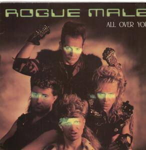 Rogue Male: All Over You - Cover