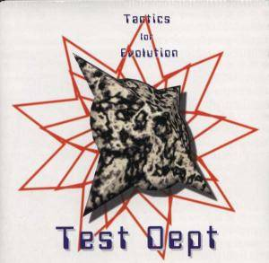 Cover - Test Dept.: Tactics For Evolution