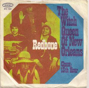 Redbone: Witch Queen Of New Orleans, The - Cover