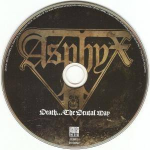 Asphyx: Death... The Brutal Way (CD) - Bild 5