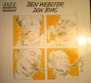 Ben Webster: Meets Don Byas, Jazz Magazine - Cover