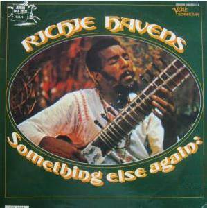 Cover - Richie Havens: Something Else Again