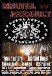 Cover - Colp: Brutal Assault Open Air Festival DVD Compilation Vol. 11