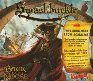 Swashbuckle: Back To The Noose - Cover