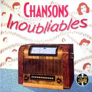 Cover - Jacques Pills: Chanson Inoubliables