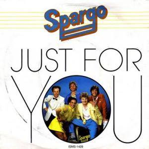 Cover - Spargo: Just For You