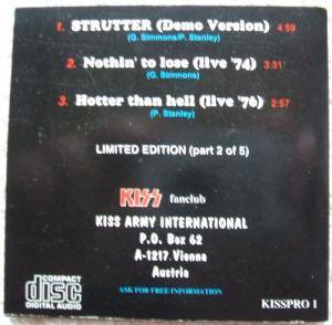 "KISS: Strutter (Demo Version) (3""-CD) - Bild 2"