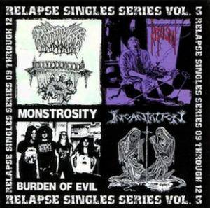 Incantation: Relapse Singles Series Vol. 3 - Cover