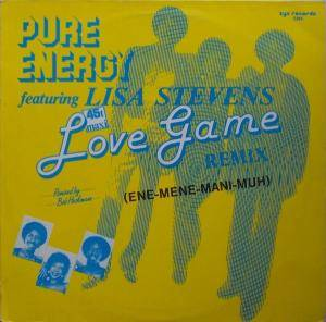 Cover - Pure Energy: Love Game