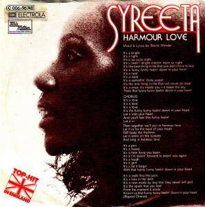 Cover - Syreeta: Harmour Love