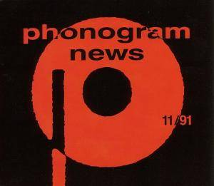 Phonogram News 11/91 - Cover