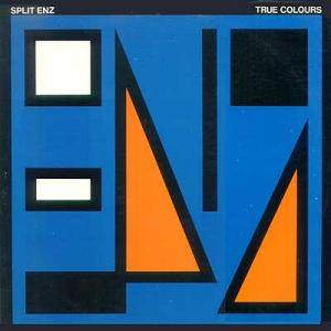 Split Enz: True Colours - Cover