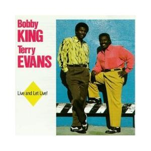 Bobby King & Terry Evans: Live And Let Live - Cover