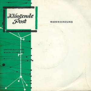 Cover - Manfred Schnelldorfer: Klingende Post I / 1965