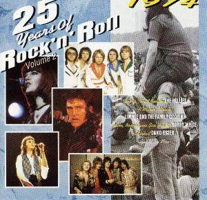 Cover - Limmie & The Family Cooking: 25 Years Of Rock 'n' Roll Volume 2 - 1974