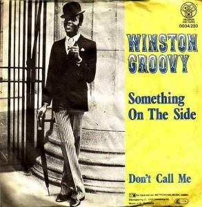 Cover - Winston Groovy: Something On The Side