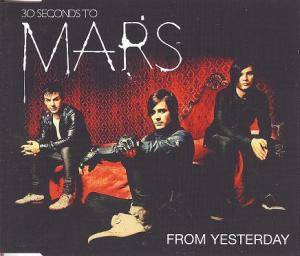 Cover - 30 Seconds To Mars: From Yesterday