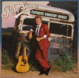 Cover - Ricky Skaggs: Favorite Country Songs