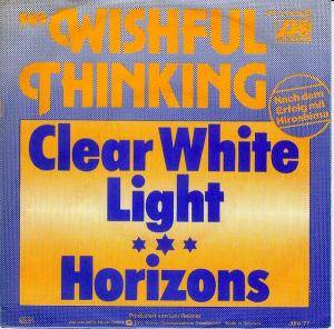 Cover - Wishful Thinking: Clear White Light