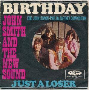 Cover - John Smith & The New Sound: Birthday