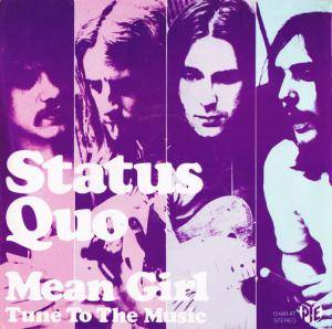 Status Quo: Mean Girl - Cover