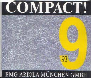 Cover - G 2: COMPACT! 9/93 BMG Ariola München GmbH