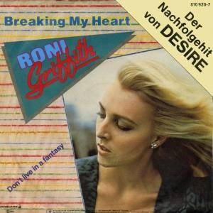 Cover - Roni Griffith: Breaking My Heart