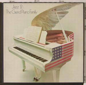 Cover - Duke Ellington & Count Basie: Jazz 2 - The Grand Piano Family