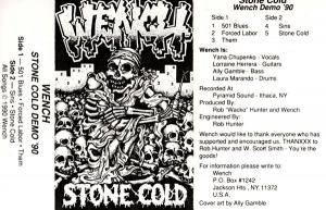 Cover - Wench: Stone Cold