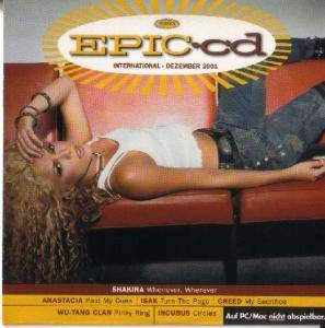 Cover - 16 Hell Ventiler: EPIC•cd International / Local Dezember 2001